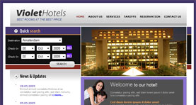 Hotels template :: Personal project